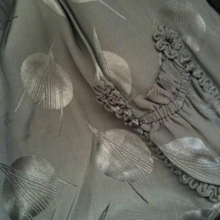 Deco silk lining