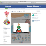 Supporting image/screenshot for Bright Starts Facebook Tab