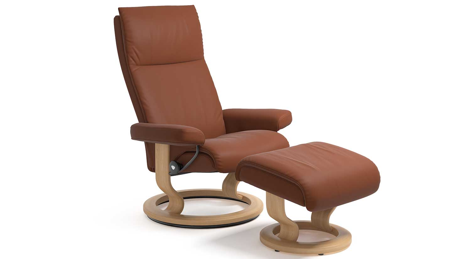 Stressless Outlet Circle Furniture Aura Stressless Chairs Leather
