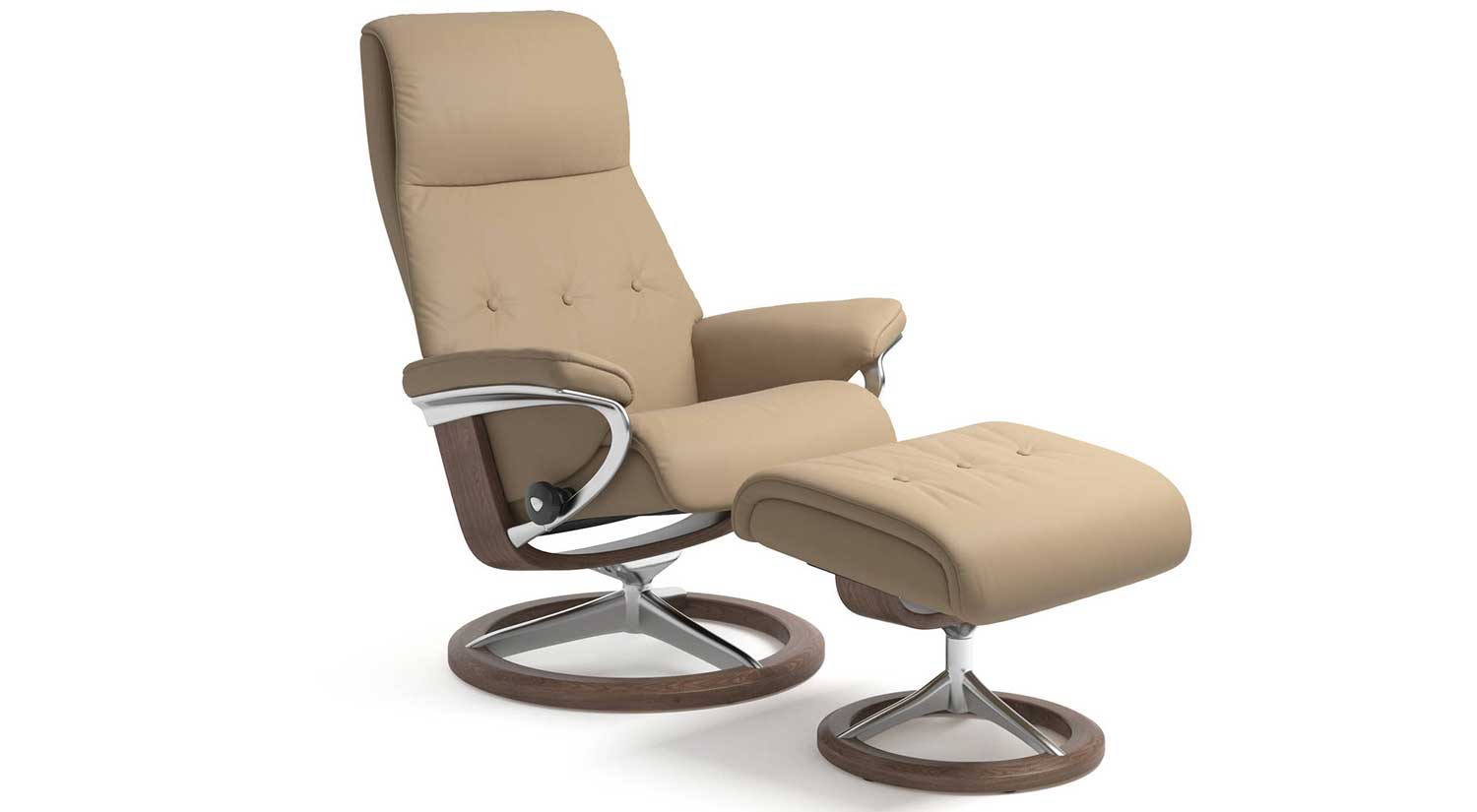 Stresless Circle Furniture Sky Stressless Signature Chairs Leather