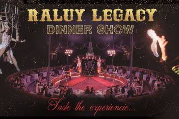 Raluy Legacy Dinner Show Cena Espectáculo