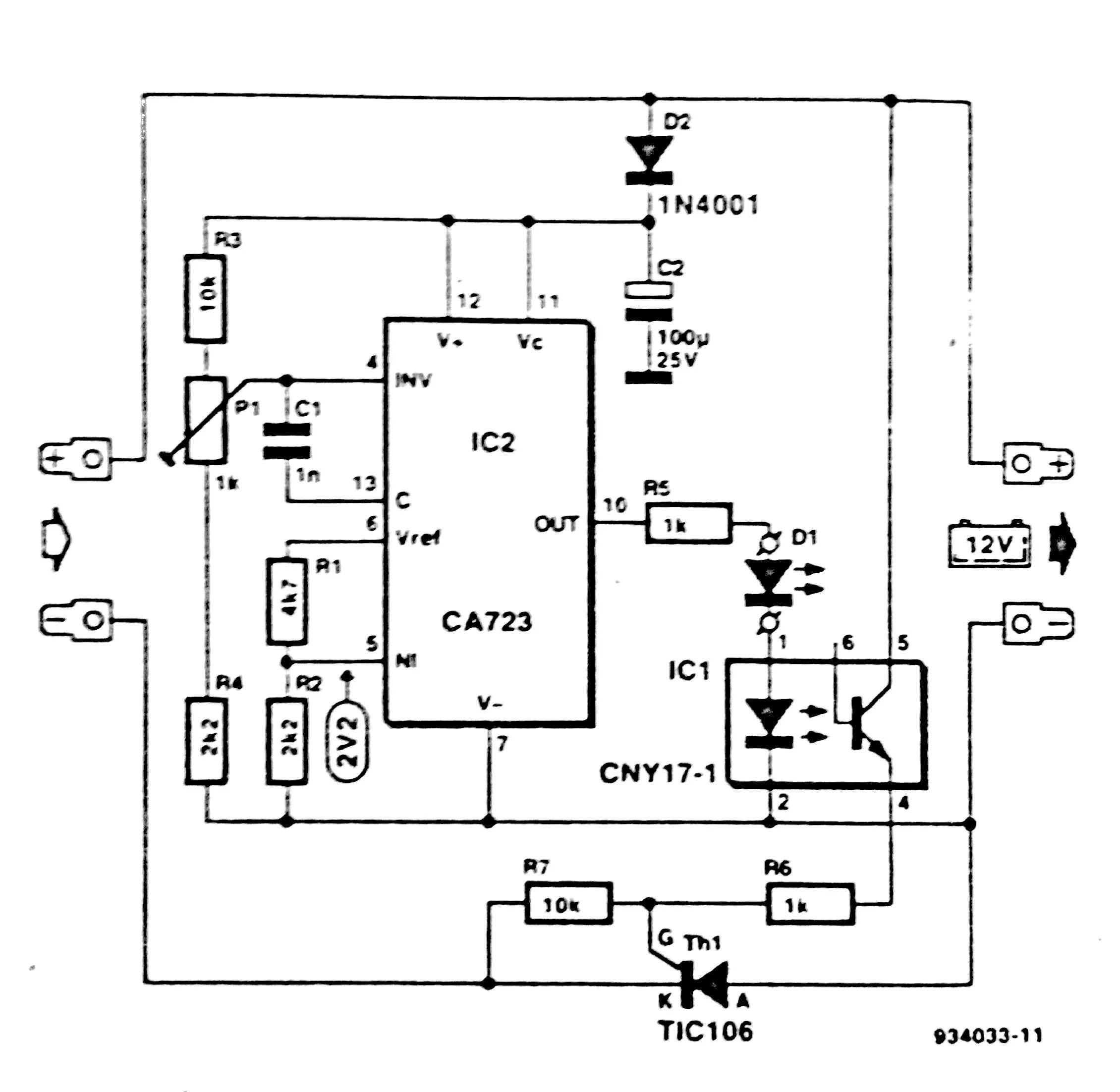 battery level circuit