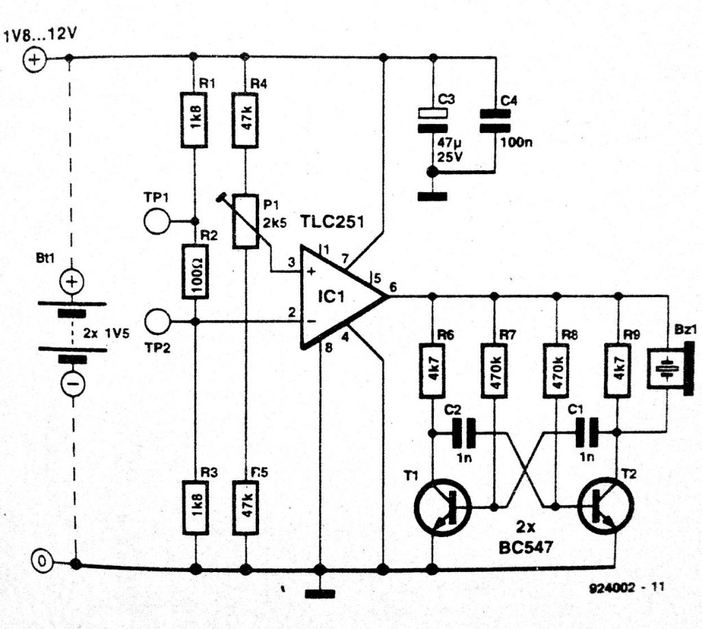 ic tester schematic