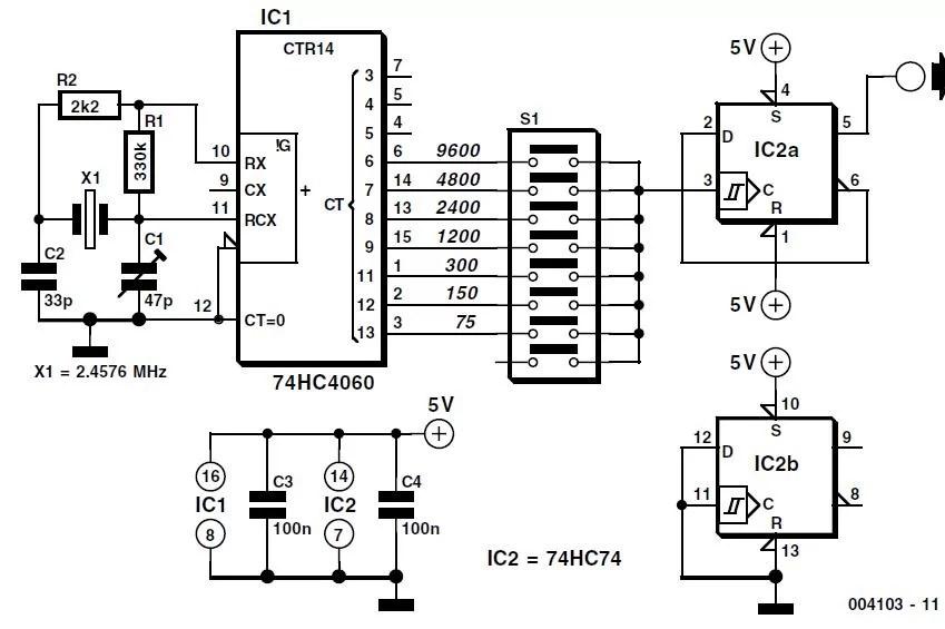 slave flash circuit diagram tradeoficcom auto electrical wiringbaud rate generator schematic circuit diagram