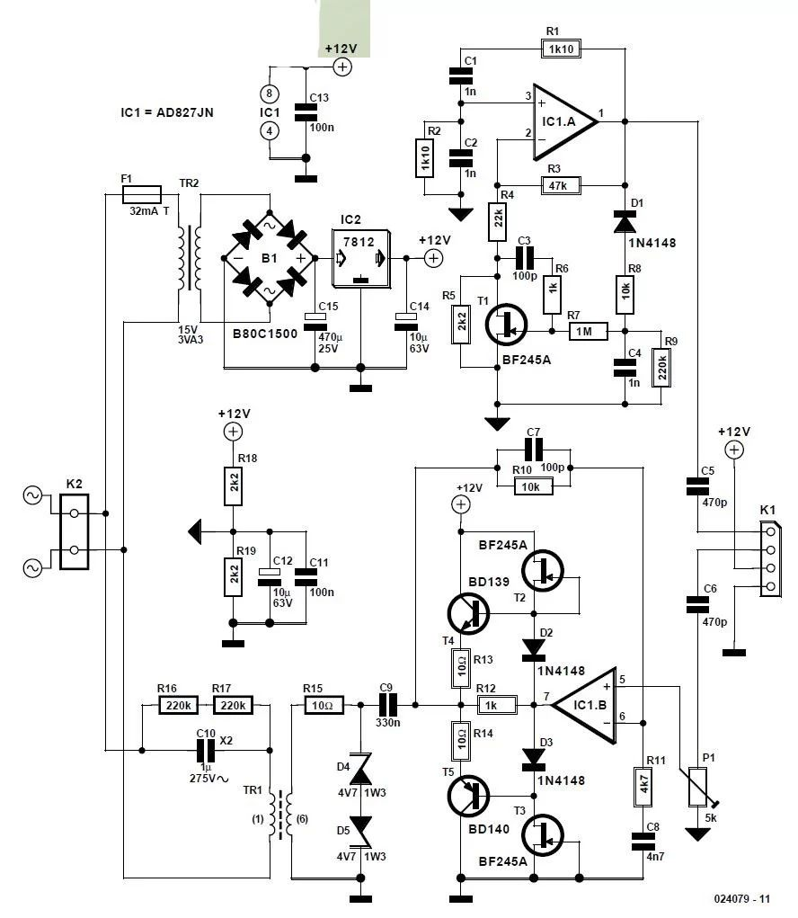 remote mains switch lowvoltage circuit and explanation