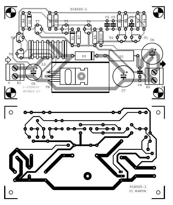 24v to 12v dc converter circuit diagram