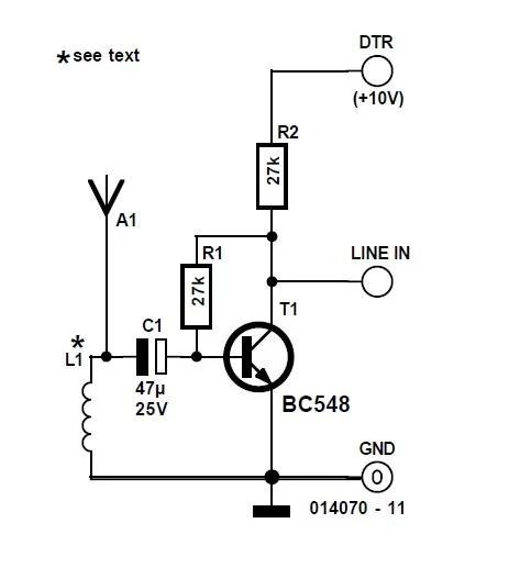Very Wideband PC Radio Schematic Circuit Diagram