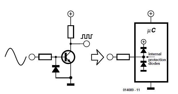 zero crossing detector circuit diagram