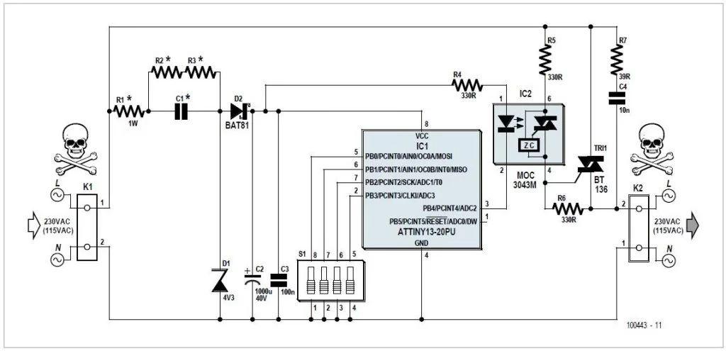 simple tone oscillator generator by 2n2222