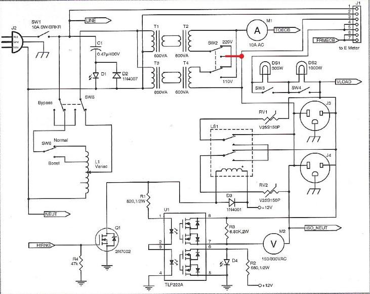 ac tester circuit