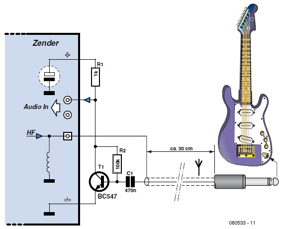 Simple Guitar Transmitter Circuit Cellar