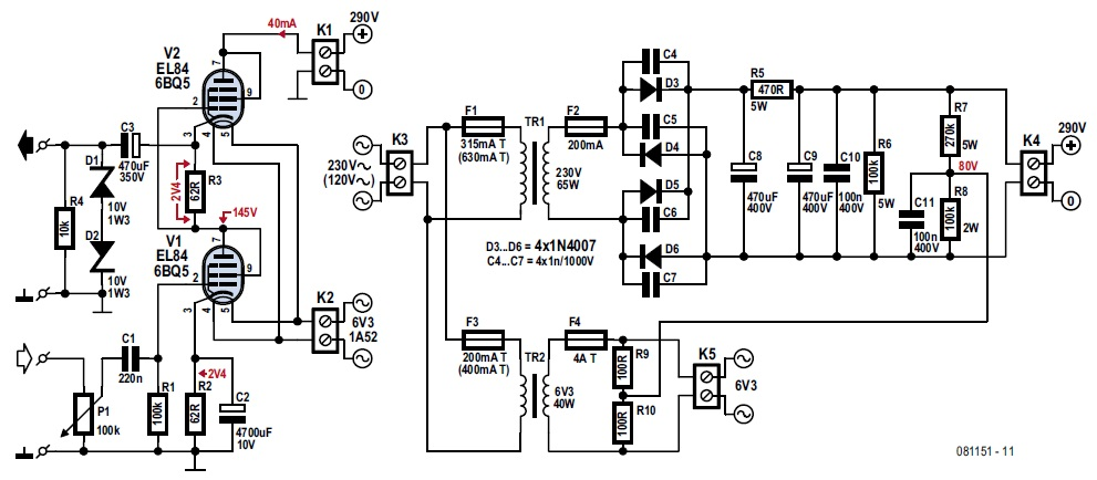 headphone amp circuit