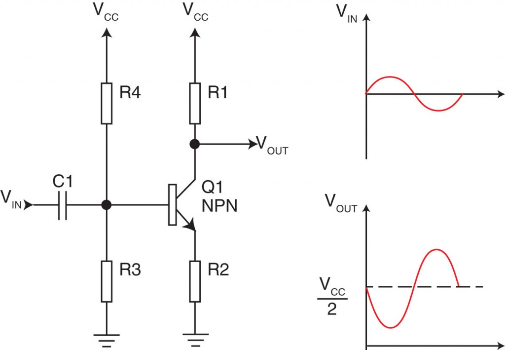 simple 3 line mixer circuit