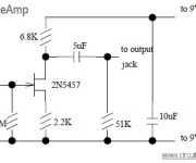 Guitar Pre-Amp with JFET 2N5457