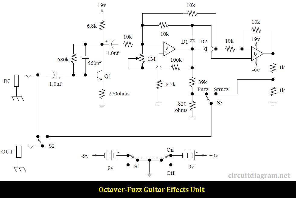 Guitar Effect Octave Fuzz
