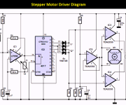Stepper Motor Controller Using TDA2030