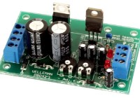 Adjustable Symmetric Power Supply Kit