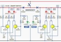 Bicycle Directional Lights Indicator Circuit