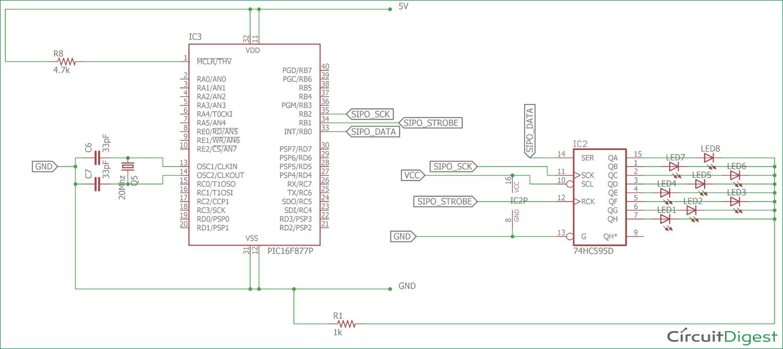 circuit diagram of crystal oscillator