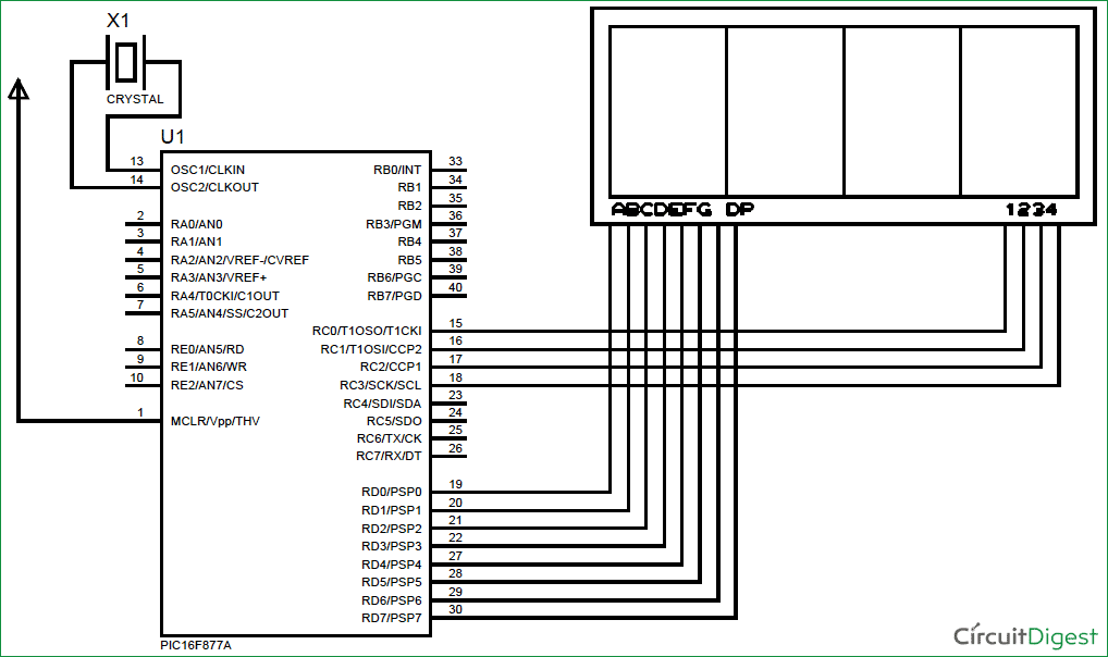 bcd counter and 7 segment display electronics forum circuits