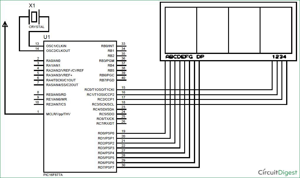 lab 6 seven segment display
