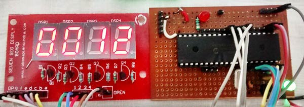 7 Segment Display Interfacing with PIC Microcontroller (PIC16F877A)