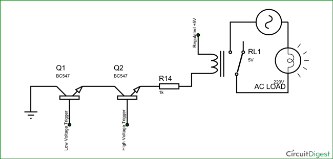 single pole circuit diagram