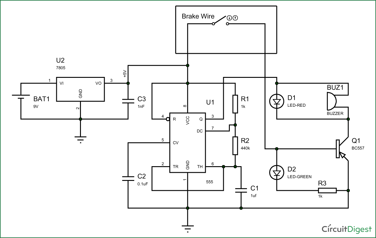 circuit diagram simple project