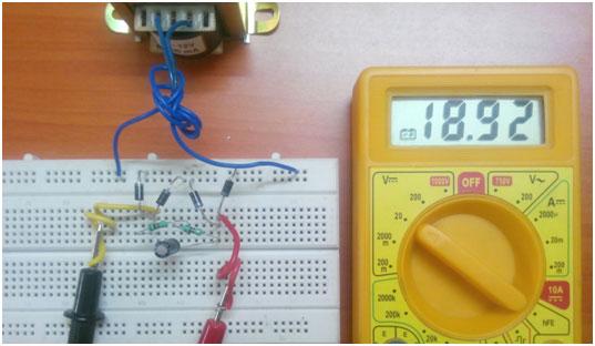 Full Wave Rectifier Circuit Diagram (Center Tapped  Bridge Rectifier)