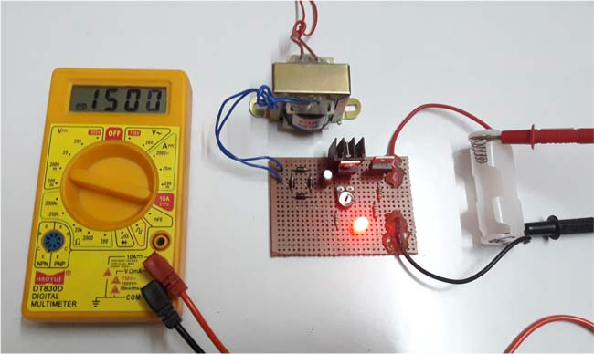 Ni-Cd Battery Charger Circuit Diagram