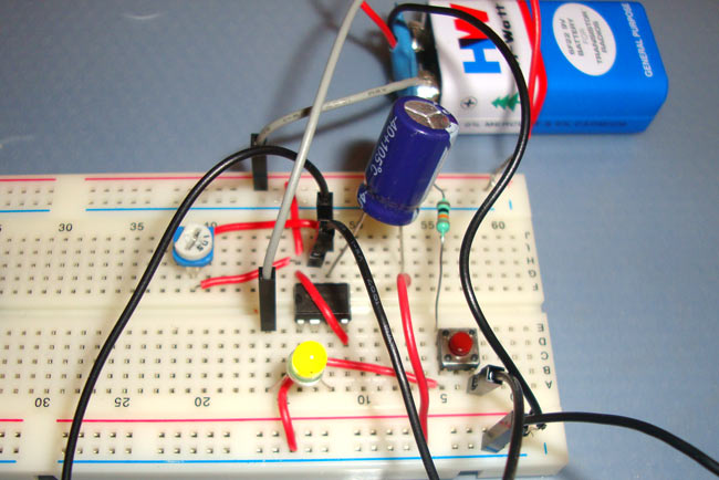 1 Minute, 5 Minute, 10 Minute and 15 Minute Timer Circuit Diagram