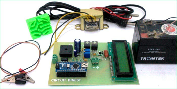12v Battery Charger Circuit Diagram using LM317 (12V Power Supply)