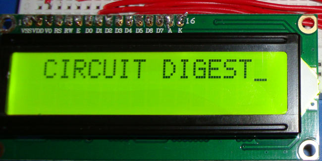 LCD Interfacing with 8051 Microcontroller (89S52) Tutorial with