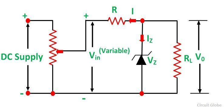 Circuit Diagram Zener Diode Voltage Regulator Wiring Diagram