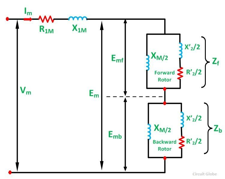 Part Winding Start Motor Wiring Diagram Equivalent Circuit Of A Single Phase Induction Motor
