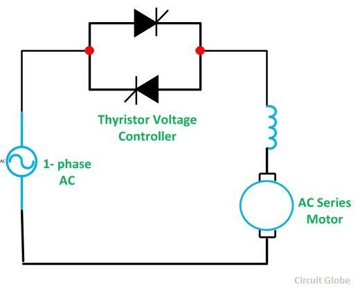 Stator Voltage Control of an Induction Motor - Circuit Globe