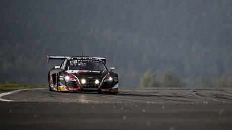 #1 Belgian Audi Club Team WRT Audi. The German set his quickest lap in Q2, just before a rain shower hit the Nürburgring