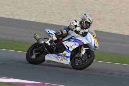 Supersport rider Qatari rider Jassim Al Thani is leading his category with 207 points and Mahmoud Tannir from Lebanon is second with 190 points.