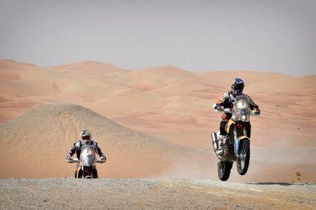 Coma won by 11 mins 55secs from his KTM team-mate, Dubai-based Sam Sunderland,..