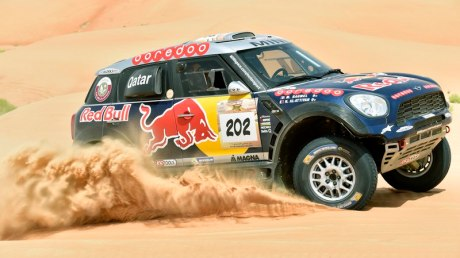 Nasser Al Attiyah secured his second victory in the event