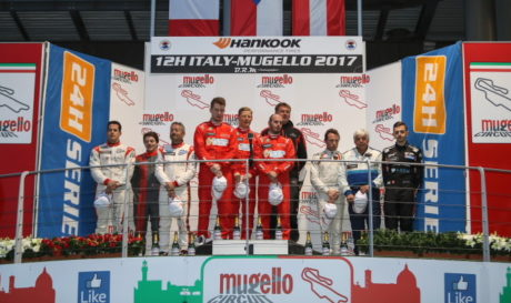 Podium overall Mugello