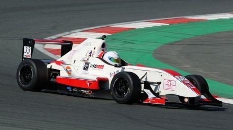Tejas Hirani in Formula Gulf 1000