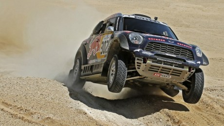 Al Attiyah powers on in Egypt