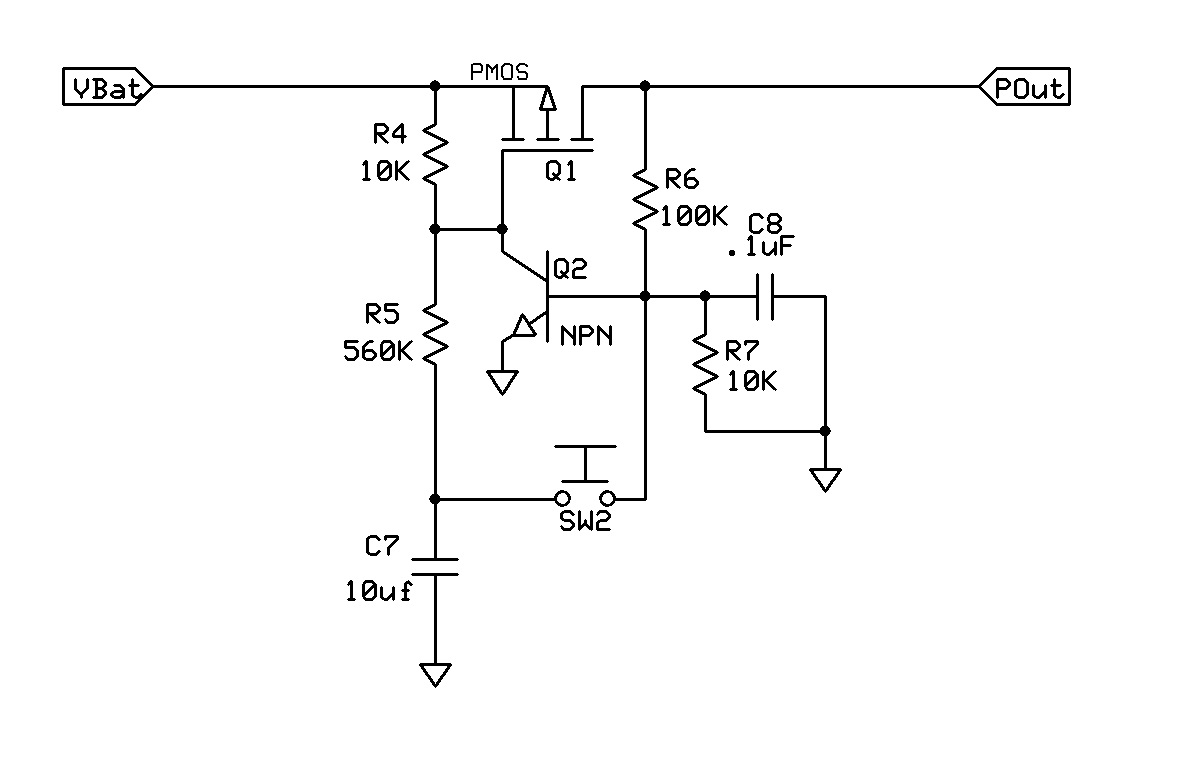 simple momentary switch latching circuit circuit salad