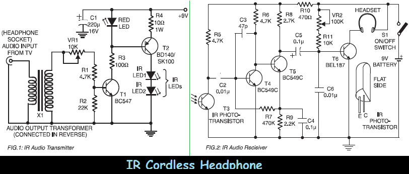 headphone connection diagrams