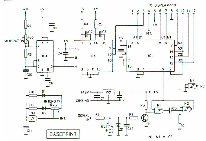 wiring diagram for car amplifier