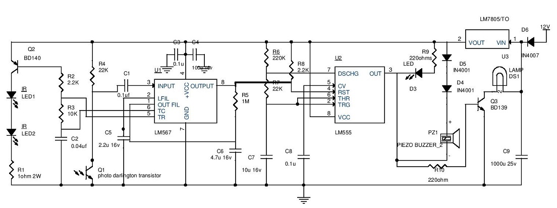 schematic light circuit