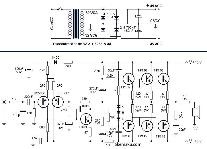 3 w class d amplifier with smart gain