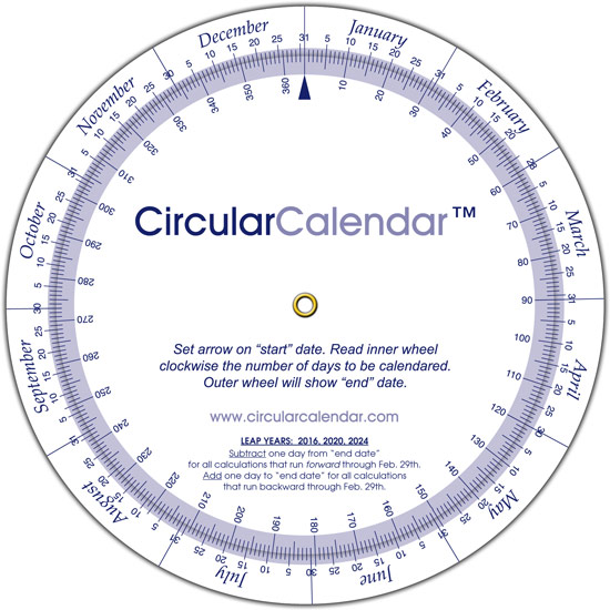 Demo - Circular Calendar - circular calendar