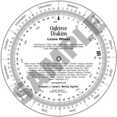 Circular Calendar™ Wheel - Circular Calendar - circular calendar